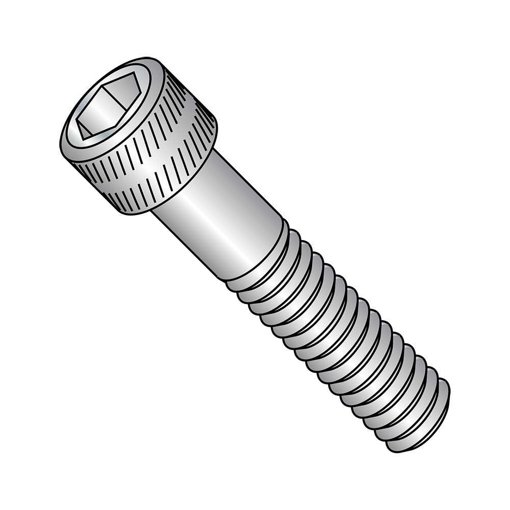 US Made Fully Threaded Hex Socket Drive 5//8 Length Stainless Steel Socket Head Cap Screw 5//8 Length Small Parts 1110CSSS Pack of 100 10-32 Thread Size