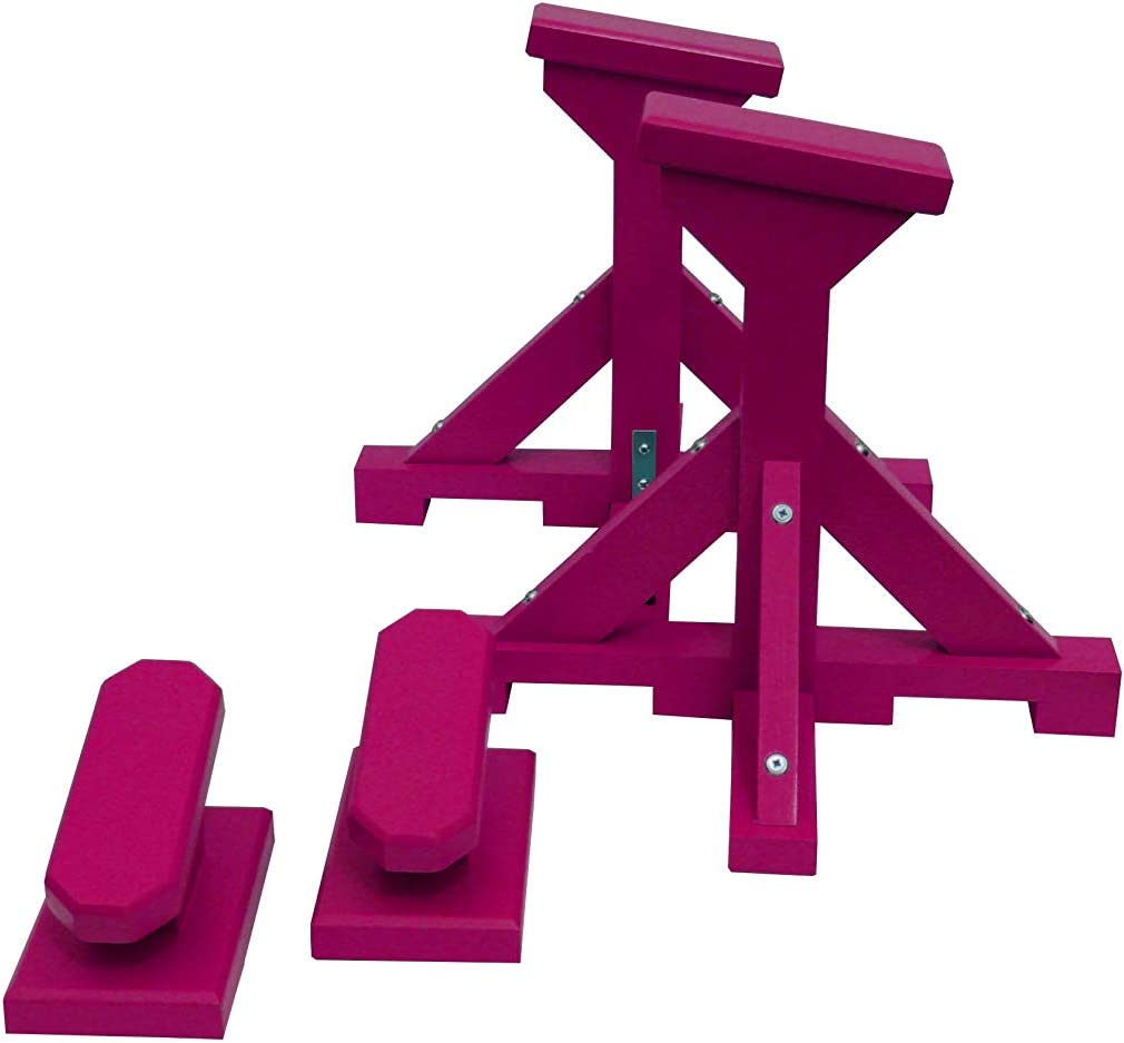 Rectangle Grip Quest Bespoke DUO SET and Yoga Blocks Angled Pedestals