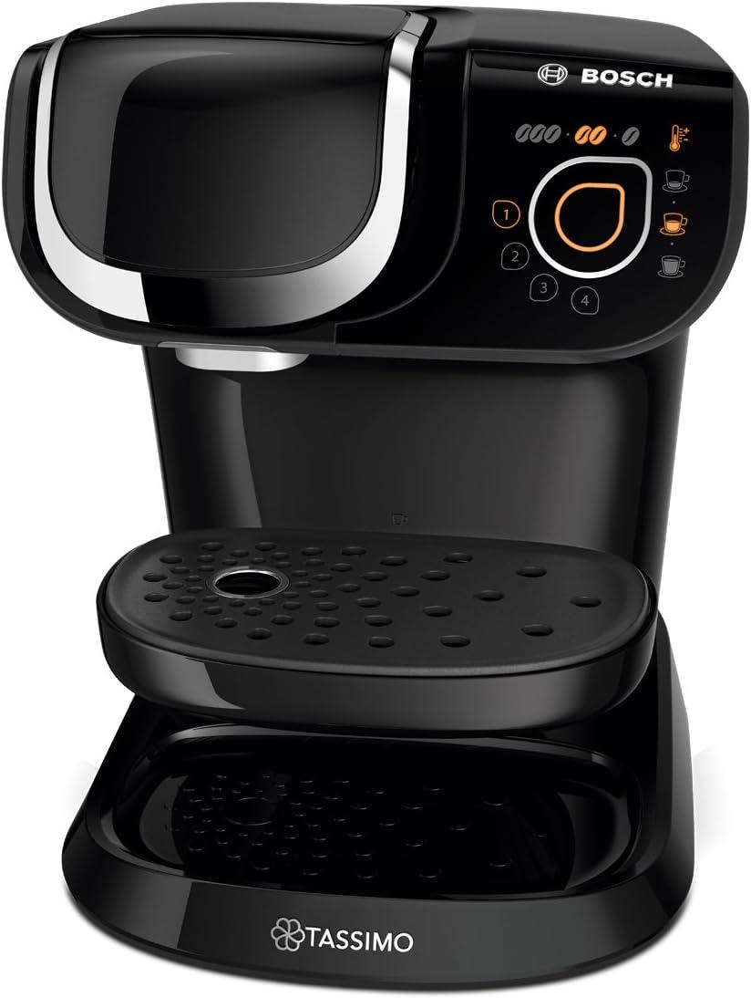 Bosch Cafetera TASSIMO My Way TAS6002 - Cafetera de cápsulas, color negro: Amazon.es: Hogar