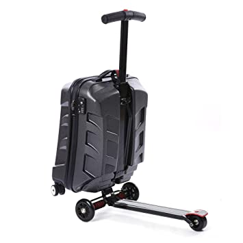 7d783b4ffff0 Amazon.com | 21'' Luggage Scooter, Folding Rolling Suitcase ...