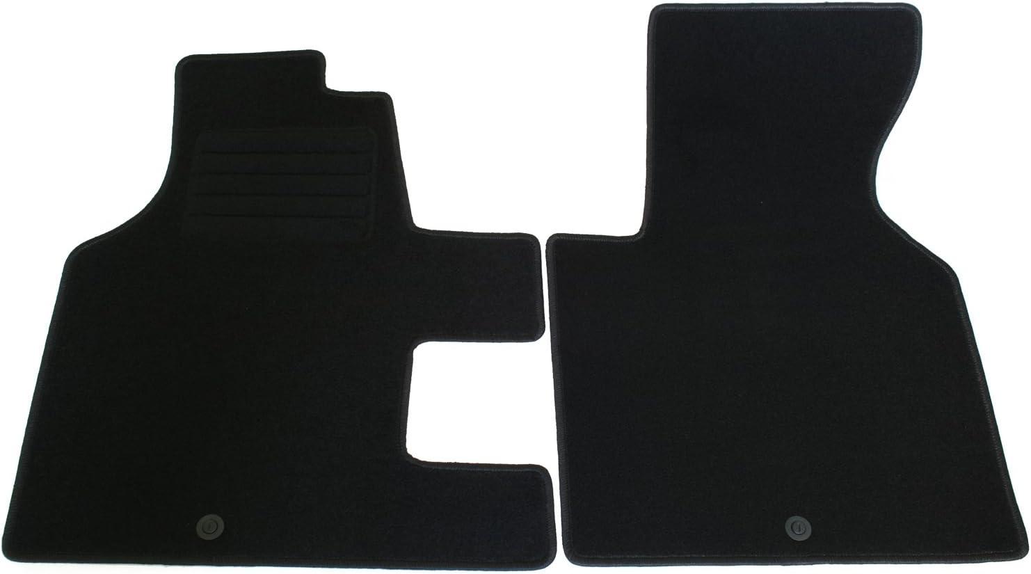 Ad Tuning Gmbh Hg2118t Velours Passform Fußmatten Set Schwarz Auto