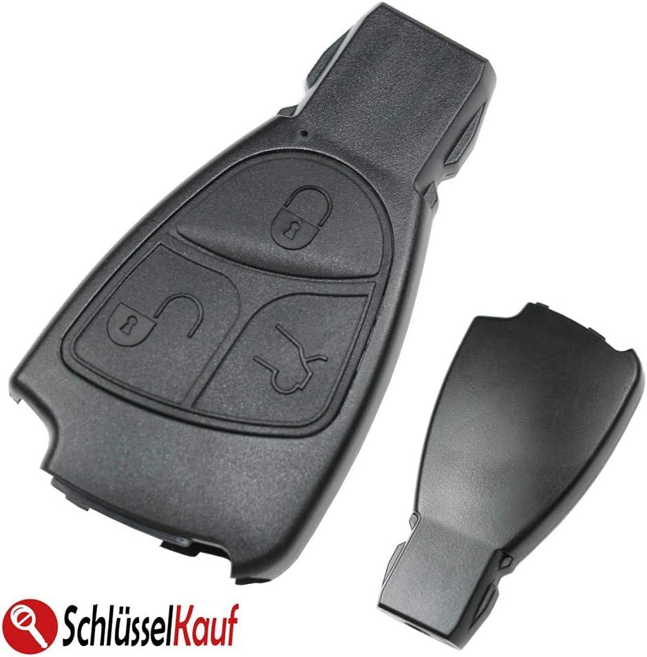 Konikon Autoschlüssel 3 Tasten Gehäuse Funk Fernbedienung Neu Passend Für Mercedes Benz W168 W202 W203 W208