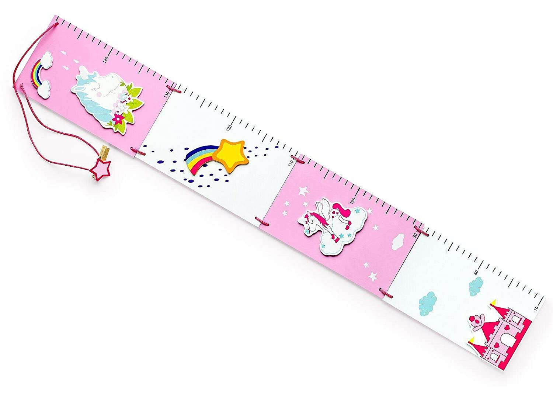 Mousehouse - metro da parete per altezza bambini - unicorno mousehouse gifts