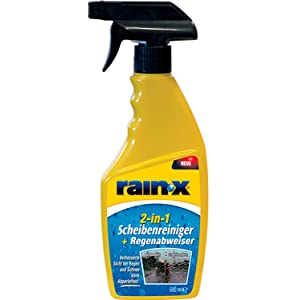 Rainx 26044 Glass / Windscreen Cleaner, Rain-Repellent