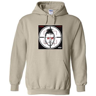d4df0b78cbaa1 TShirtGuys Eminem Killshot Hoodie Kamikaze Tan at Amazon Men's ...
