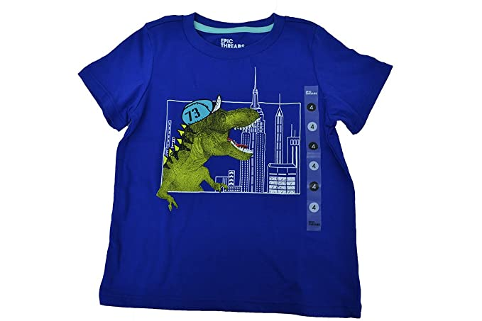 87c60200ebff Amazon.com: Epic Threads Little Boys' Dino in the City T-Shirt ...