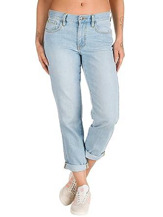 130331861186e Vans Damen Jeans Hose Straight Leg Jeans  Amazon.de  Bekleidung