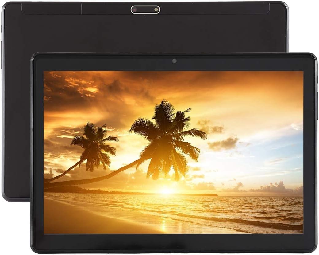 3G Call Tablet PC Color : Black Support Dual SIM /& Bluetooth /& WiFi /& G-Sensor /& GPS /& FM /& OTG 4500mAh Battery 10.1 inch Android 5.1 MT6580 A7 Quad Core 1.3GHz 1GB+16GB Black