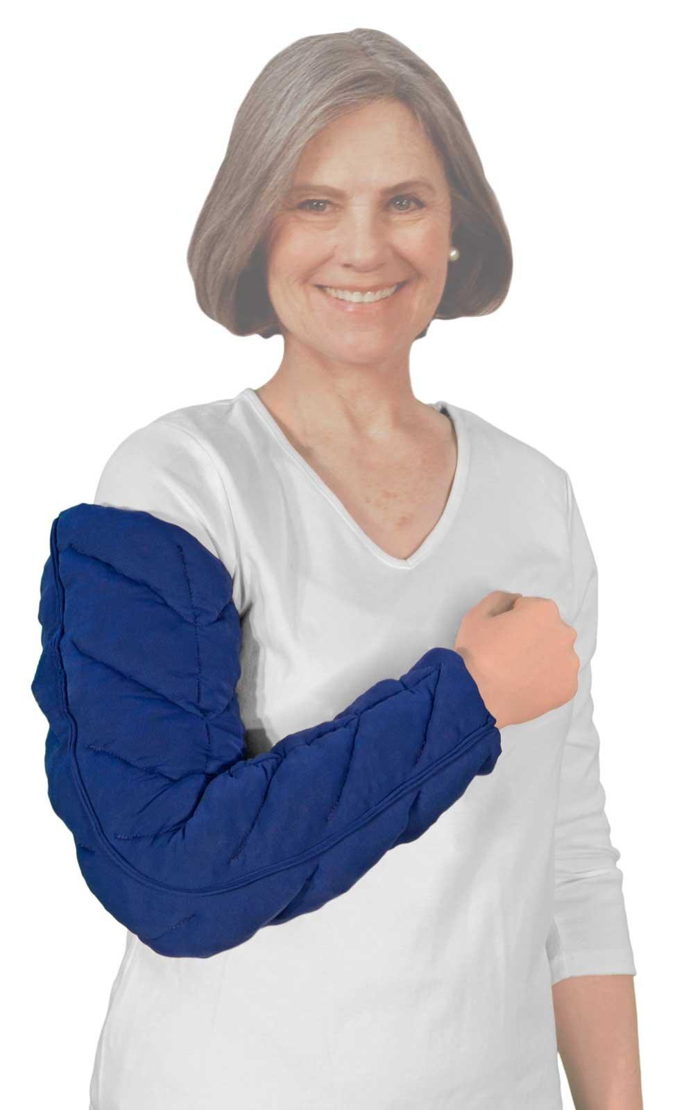 Caresia Lymphedema Arm Bandaging Liner Wrist to Axilla - Right Arm, Medium
