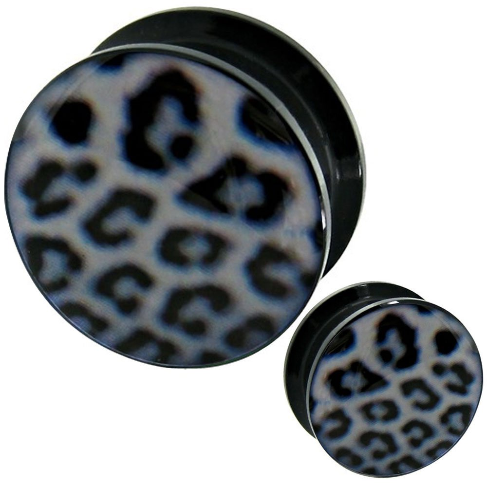 00g ear gauges tunnels stretching kit plugs gauges Steel wood MoDTanOiz Flesh tunnels 00g 00 gauge 10mm