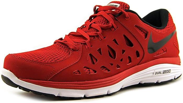 Nike Zapatillas Running Nike Dual Fusion Run 2 Rojo/Negro EU 41 (US 8): Amazon.es: Zapatos y complementos
