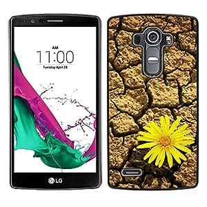 LECELL--Funda protectora / Cubierta / Piel For LG G4 -- Diseño Flor del desierto --