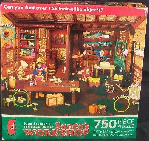 [Joan Steiner's Santa's WORKSHOP Puzzle] (Hottest 12 Year Old Girls)
