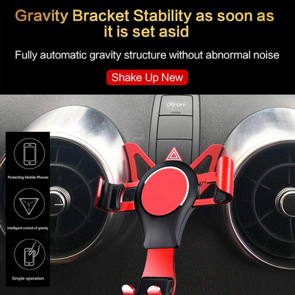 Womdee Support T/él/éphone Voiture Ventilation Gravit/é pour Audi A1 S1 Support de t/él/éphone /à /évent r/églable sp/écialement con/çu pour Audi A1 S1