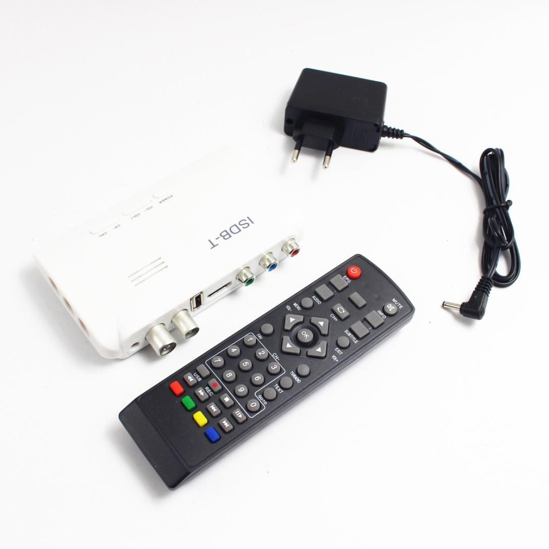 5dBi Antenna Dreamyth 1080P ISDB-T Digital Terrestrial Convertor TV BOX Receiver PVR