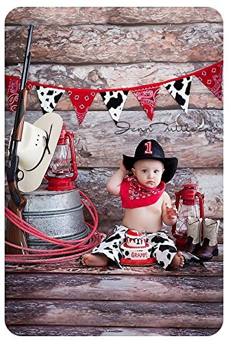 Image Unavailable Not Available For Color Baby Boys First Birthday Cake Smash Deluxe Cowboy Set