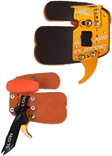 Avalon Archery Classic Leather Prime Finger Tab Right Hand For Recurve Bow