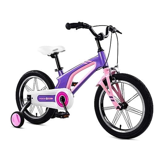 SGMYMX Bicicleta para niños 14 Pulgadas niño niño Bicicleta niño ...