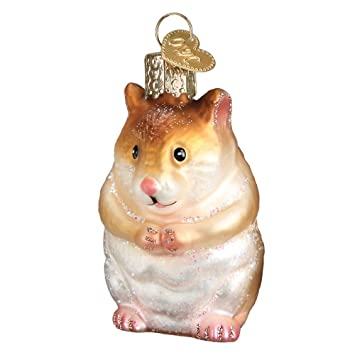 Image Unavailable - Amazon.com: Old World Christmas Hamster Glass Blown Ornament: Home