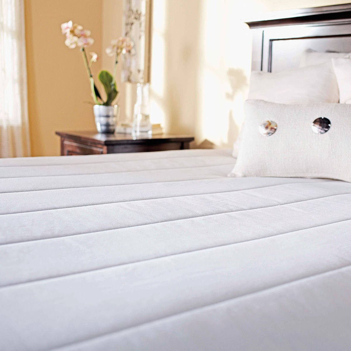 Sunbeam Quilted Heated Mattress Pad, Full Jarden Consumer Solutions MSU3BFS-P000-12D50