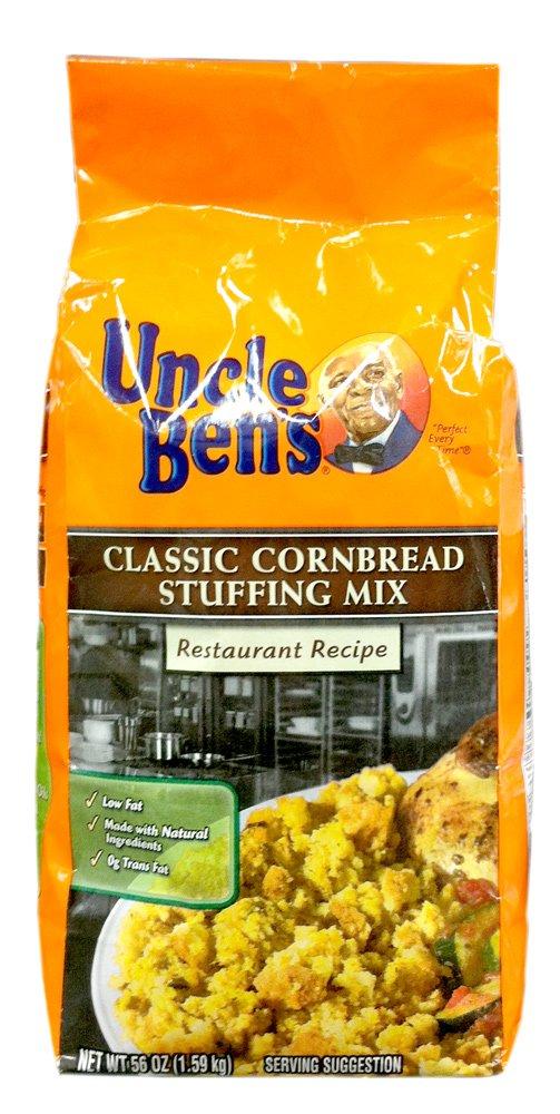 Uncle Ben's CLASSIC CORNBREAD STUFFING Mix Restaurant Recipe 56oz (2 Pack) by Uncle Ben's