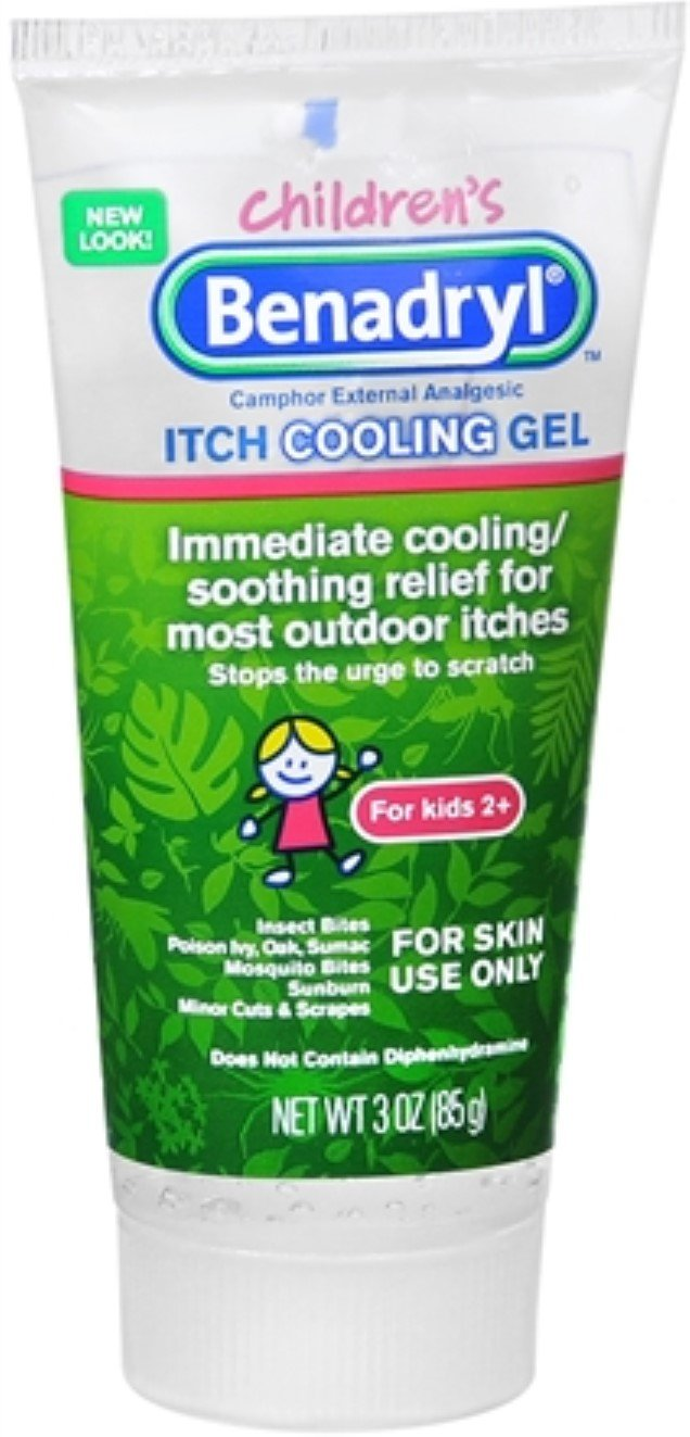 Benadryl Children's Itch Cooling Gel 3 oz (Pack of 5) by Benadryl