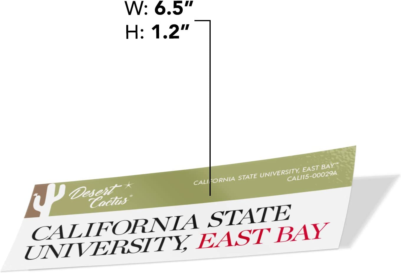 Sticker - 00029A California Cal State University East Bay CSUEB Pioneers NCAA Vinyl Decal Laptop Water Bottle Car Scrapbook