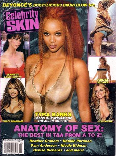 Celebrity Skin Magazine #140 Trya Banks Traci Bingham, Jennifer Love Hewitt, Lisa Marie, Pam Anderson, Denise Richards and Many More