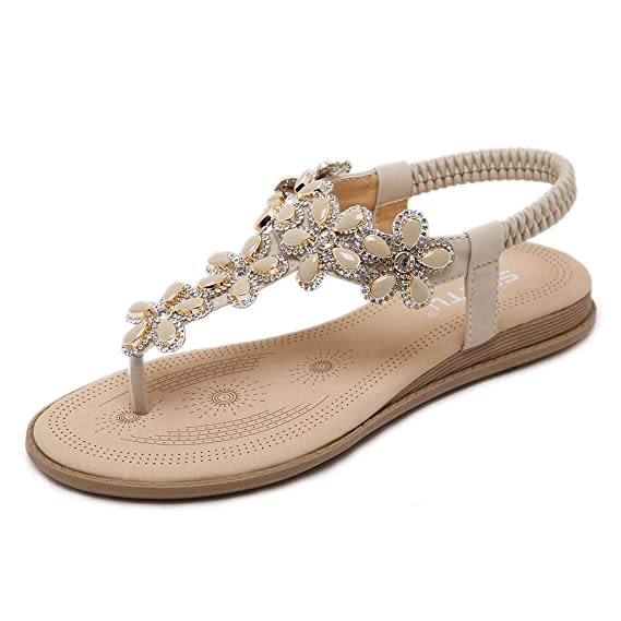 Darringls_Sandalias de Primavera Mujer,Zapatillas Puntiagudo Cinturón de Cruz Verano Fondo Plano calados Sandalias de Playa Peep Toe Mujer Pellizcar: ...