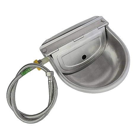 Amazon.com: Alimentador automático de agua Trough Tazón con ...