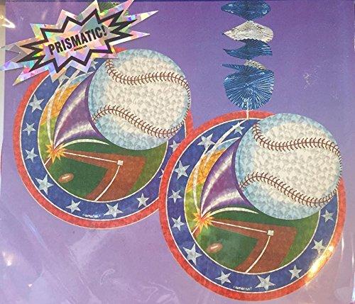 Prismatic Dangling Cutouts Baseball
