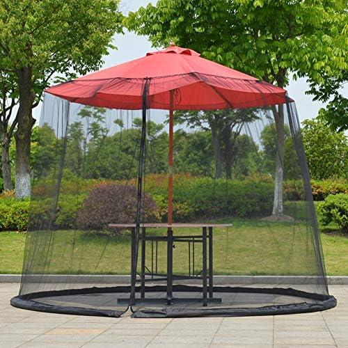 EMVANV Paraguas de Malla para Exteriores, sombrilla de jardín ...