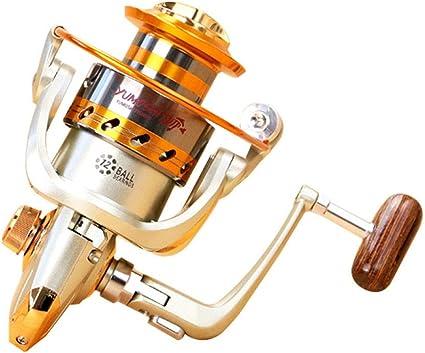 NEW Spinning Fishing Reel 12BB Metal Spool Folding Arm Left Right EF1000-EF7000