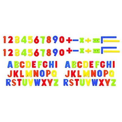 PlayGo Alphabet Magnetic Letter Numbers & Mathematical Figures (86Piece) for Toddlers Early Learning Toy Gift for Kids Classroom: Toys & Games [5Bkhe0804319]