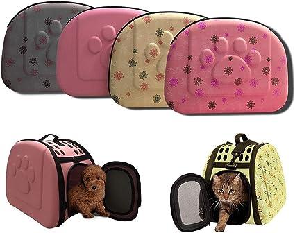 Athyior Trasportino per Animali Domestici Pet Dog Cat Rabbit Borsa da Viaggio Regolabile Durevole Borsa a Tracolla per Animali Domestici Borsa per Il Trasporto