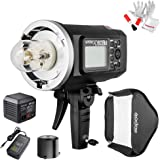 Godox AD600BM Bowens Mount 600Ws GN87 HSS Outdoor Flash Strobe Light with 2.4G Wireless X System, 8700mAh Battery to…