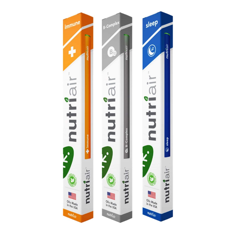 Nutriair Replenish Pack (Immune, B-Complex & Sleep)