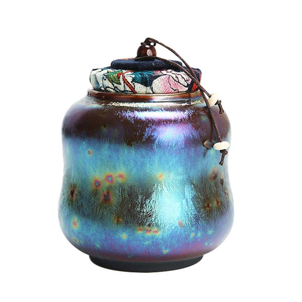 NYJ Cremation Urns For Pets, Pet Urn, Ceramic Sealed, Functional Urn, Moisture Proof, Keepsake Box For Dogs And Cats