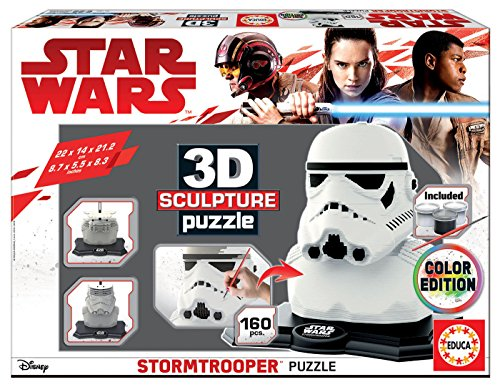 Educa Borrás-Star Wars-3D Sculpture Puzzle Stormtrooper for sale  Delivered anywhere in USA