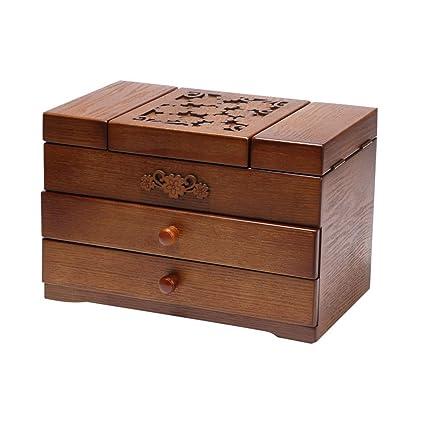 Organizador de joyas Estuche de almacenamiento con Caja de ...