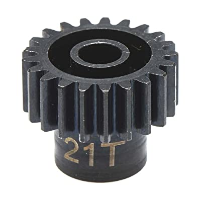 Hot Racing NSG3221 21t Steel 32p Pinion Gear 5mm Bore: Toys & Games