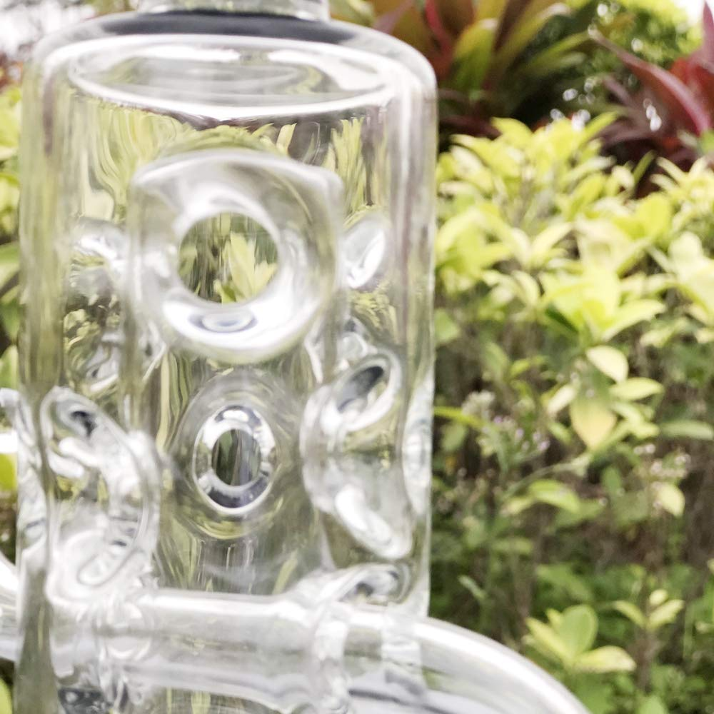 7.8 inch Thick and Durable Double Glass Bub … (Colorful 12) by bouladfans (Image #3)