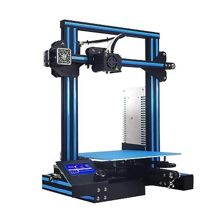YNPGHG Impresora 3D Comercial Premontada con Lecho De Ultrabase Y ...