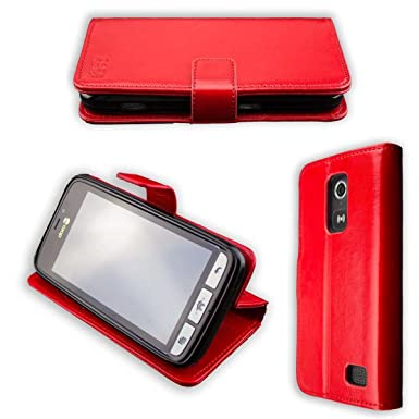 official photos 8c6e9 0ef57 caseroxx Protective Covers for Doro 8030/8031 (Bookstyle, red)