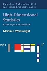 High-Dimensional Statistics: A Non-Asymptotic Viewpoint