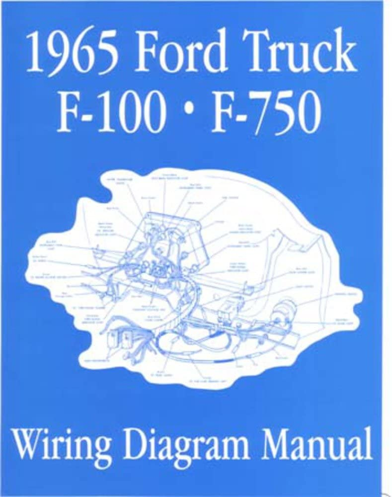 1965 ford wiring schematic amazon com bishko automotive literature electrical wiring  electrical wiring