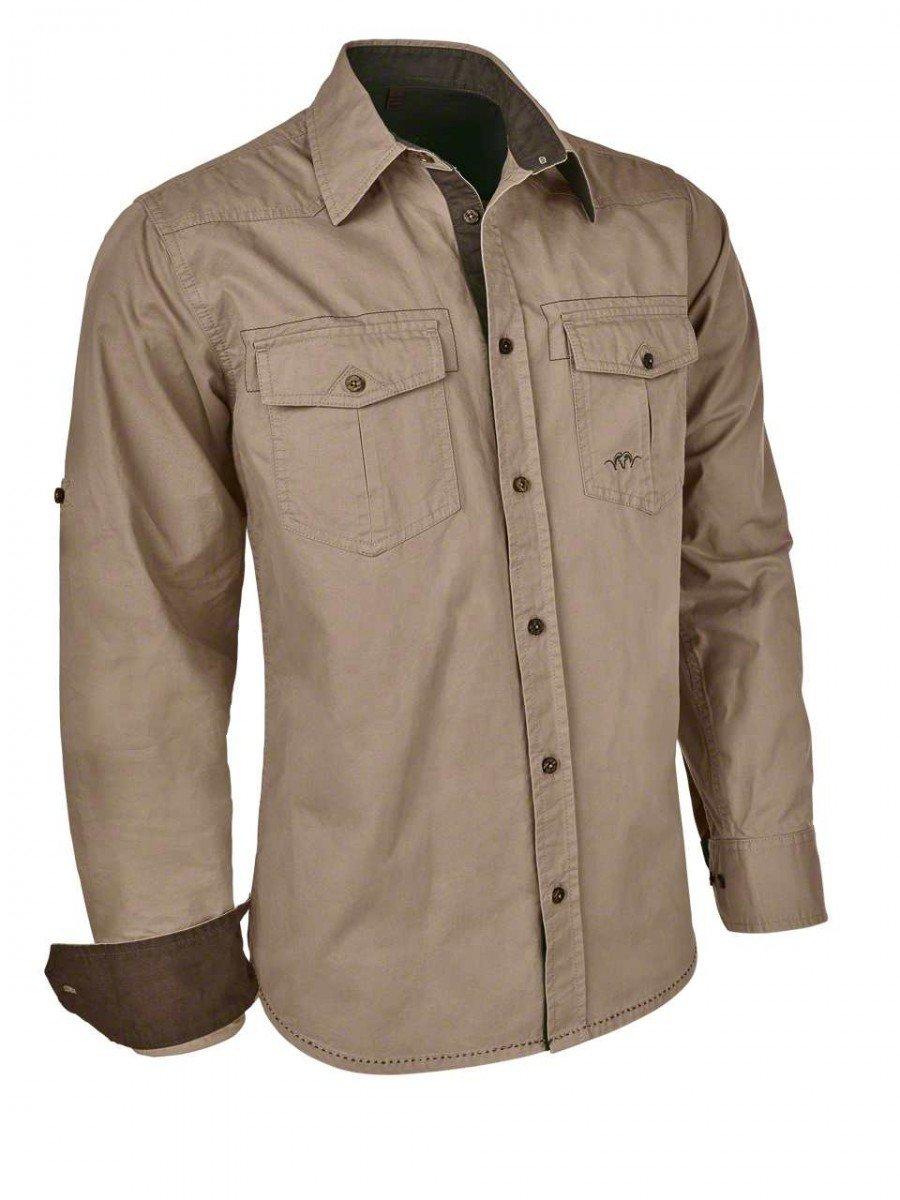 Blaser Alan Twill Shirt Hemd Jagdhemd Outdoor-Hemd in Sand