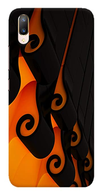 Mobiera 3d Printed Design Back Cover For Vivo V11 Pro
