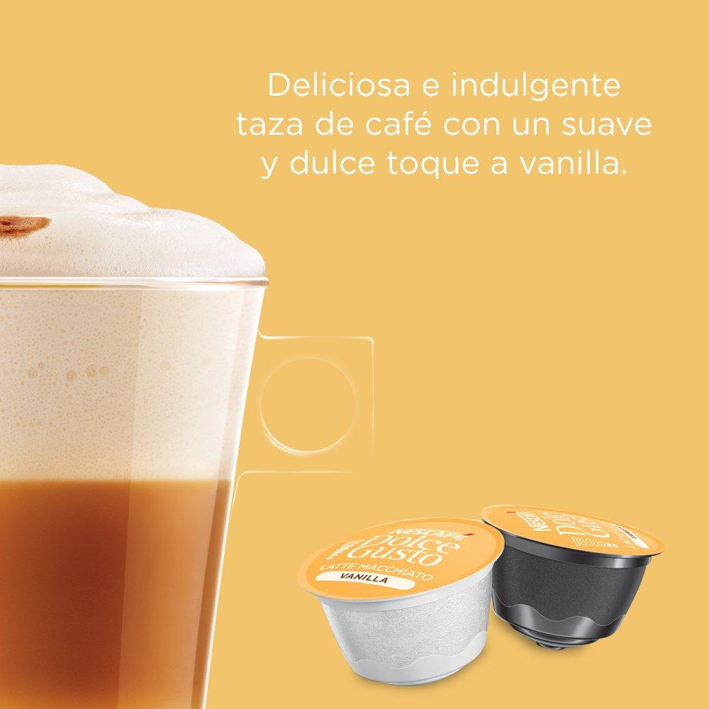 Nescafe Dolce Gusto Vanilla Latte Macchiato, 16 ct (8 Beverages): Amazon.com: Grocery & Gourmet Food