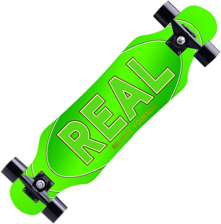 7 Layers Maple Decks Complete Skateboard Cruiser for Cruising Carving Ninasill 31x 8 Complete Longboard Drop Through Longboard Free-Style and Downhill